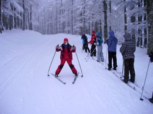 esquí nórdico Navarra Abodi Albergue del Pirineo