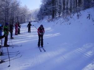 Esquiando en Abodi